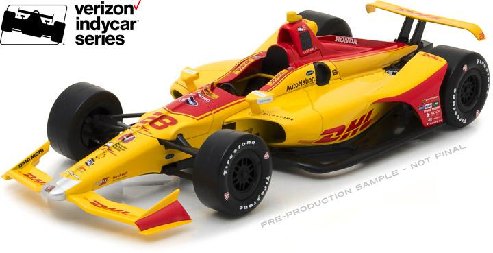 11022 - 1:18 2018 #28 Ryan Hunter-Reay / Andretti Autosport, DHL