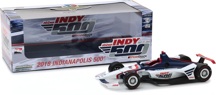 11033 - 1:18 2018 102nd Running of the Indianapolis 500 Event Car
