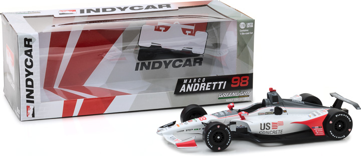 11042 - 1:18 2018 #98 Marco Andretti / Andretti Autosport, US Concrete