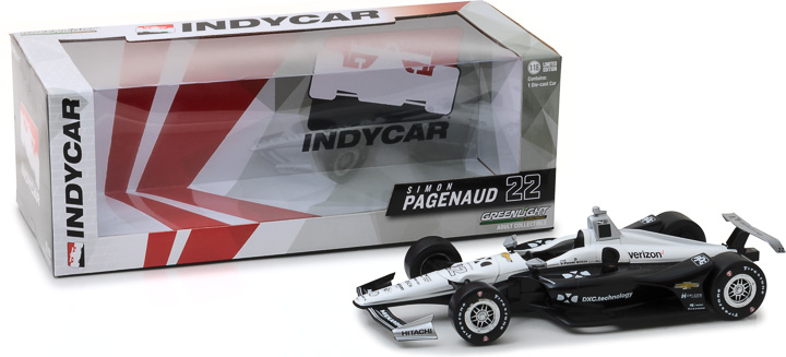 11043 - 1:18 2018 #22 Simon Pagenaud / Team Penske, DXC Technology