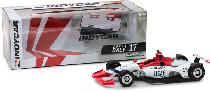 11045 - 1:18 2018 #17 Conor Daly / Dale Coyne Racing with Thom Burns Racing, U.S. Air Force