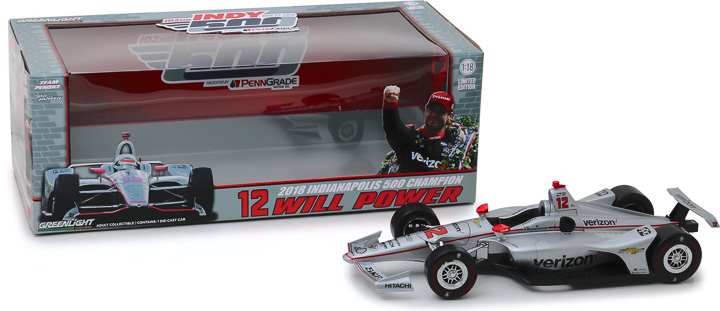 11046 - 1:18 2018 #12 Will Power / Team Penske, Verizon / 2018 Indianapolis 500 Champion