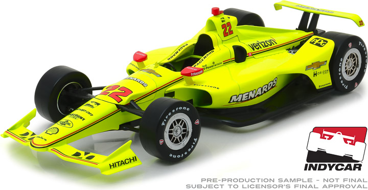 11050 - 1:18 2019 #22 Simon Pagenaud / Team Penske, Menards