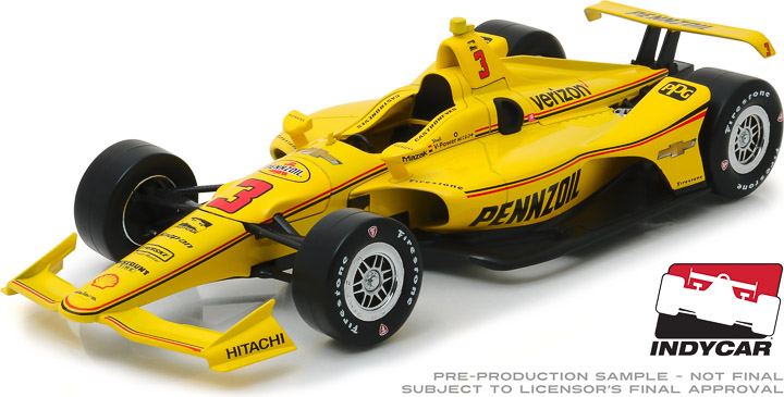 11052 - 1:18 2019 #3 Helio Castroneves / Team Penske, Pennzoil