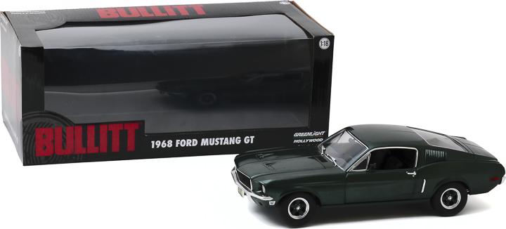 12823 - 1:18 Bullitt (1968) - 1968 Ford Mustang GT Fastback