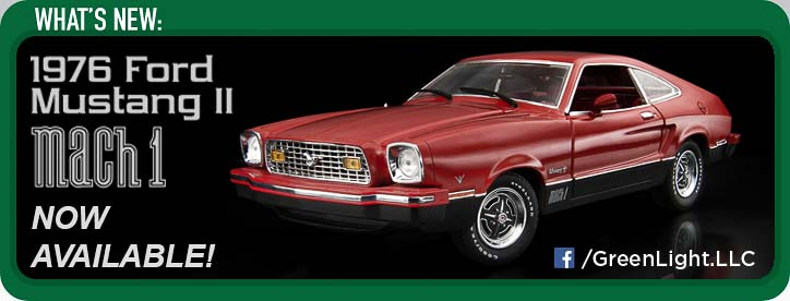 12867 Mustang II Mach 1 - Red