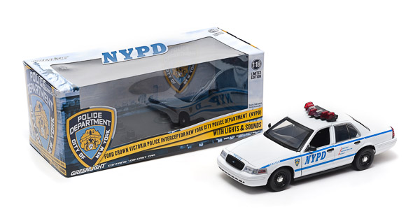NYPD Interceptor (Lights and Sound)