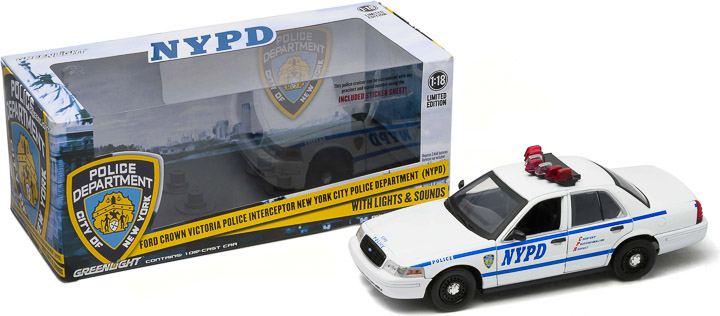New York City Police Department (NYPD) Interceptor (with Lights and Sound