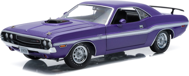 1:18 1970 Dodge Challenger HEMI Shaker R/T - Plum Crazy Purple
