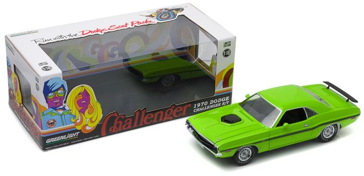 1:18 1970 Dodge Challenger HEMI Shaker R/T - Sublime Green