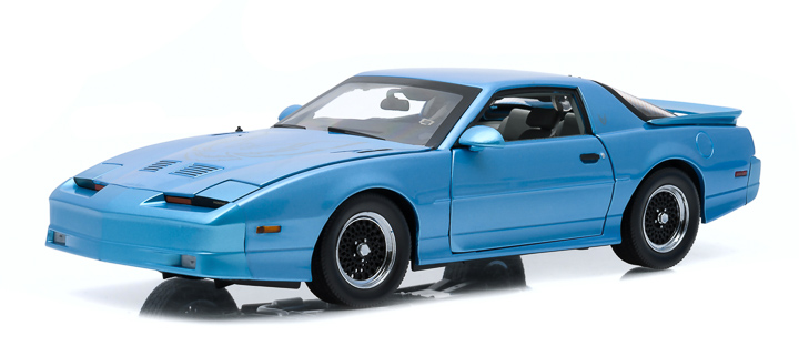 1:18 1989 Pontiac Trans Am GTA - Medium Maui Blue Metallic