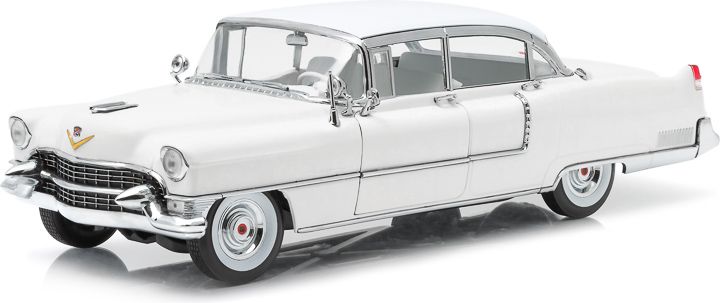 1:18 1955 Cadillac Fleetwood Series 60 - White