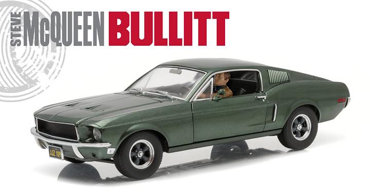 12938 - 1:18 Bullitt (1968) - 1968 Ford Mustang GT Fastback
