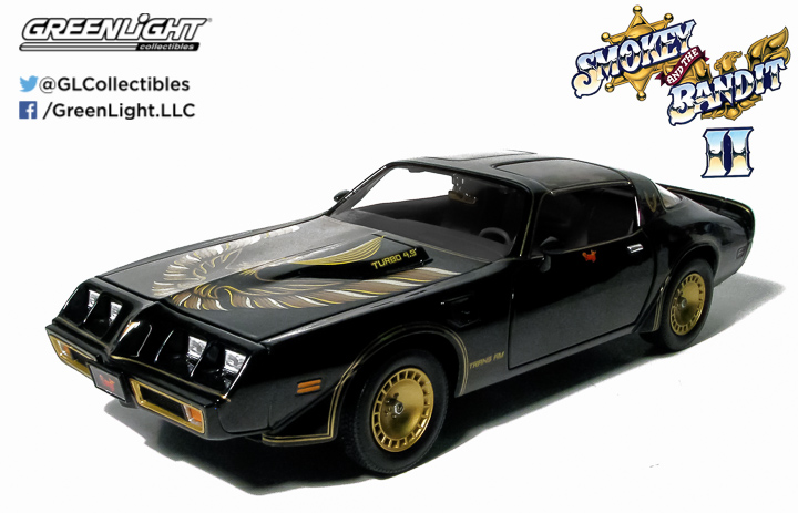 1:18 - Smokey & The Bandit II (1980) - 1980 Pontiac Firebird Trans Am Turbo 4.9L