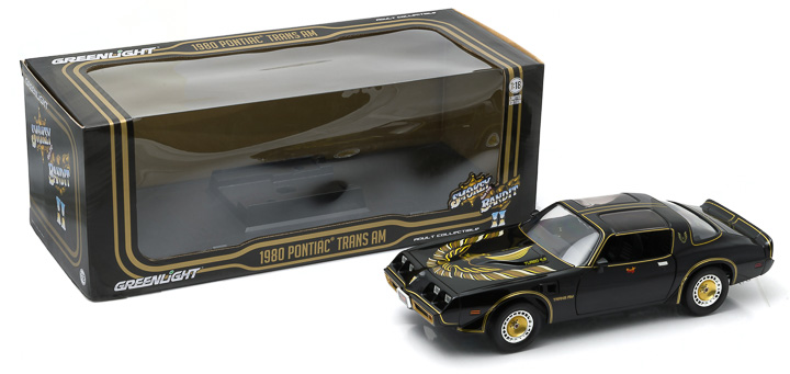 1:18 - Smokey & The Bandit II (1980) - 1980 Pontiac Firebird Trans Am Turbo 4.9L