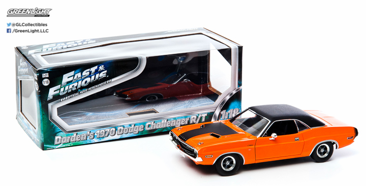 12947 - 1:18 2Fast 2Furious (2003) - 1970 Dodge Challenger R/T