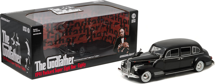 12948 - 1:18 The Godfather (1972) - 1941 Packard Super Eight One-Eighty