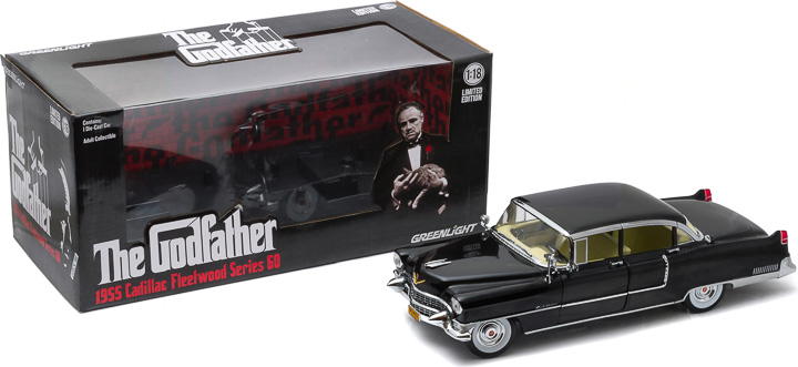 12949 - 1:18 The Godfather (1972) - 1955 Cadillac Fleetwood Series 60 Special