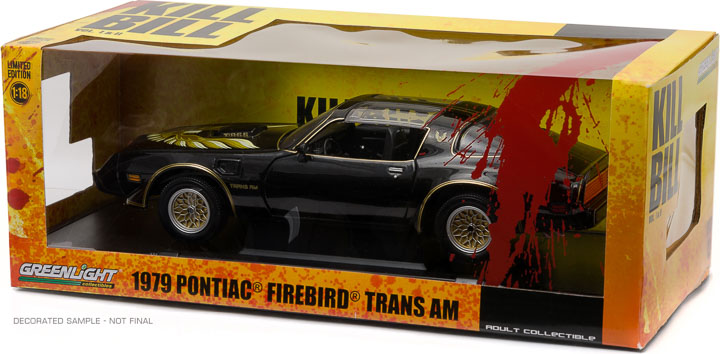 1:18 Kill Bill: Vol. 2 (2004) - 1979 Pontiac Firebird Trans Am
