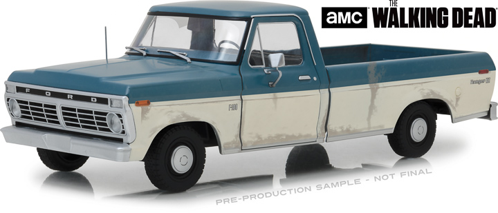 12956 - 1:18 The Walking Dead (2010-Current TV Series) - 1973 Ford F-100