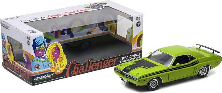 1:18 1971 Dodge Challenger HEMI R/T - Green Go