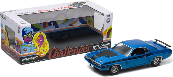 1:18 1971 Dodge Challenger HEMI R/T - B-5 Blue