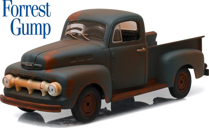 1:18 Forrest Gump (1994) - 1951 Ford F-1 Truck 'Run, Forrest, Run!'