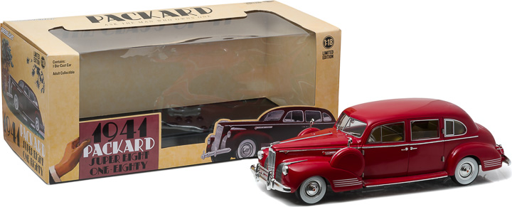 1:18 1941 Packard Super Eight One-Eighty - Laguna Maroon