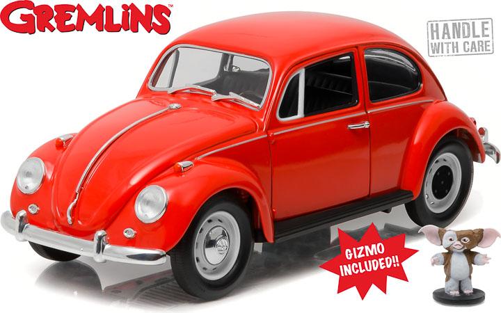 1:18 Gremlins (1984) - 1967 Volkswagen Beetle with Gizmo Figure