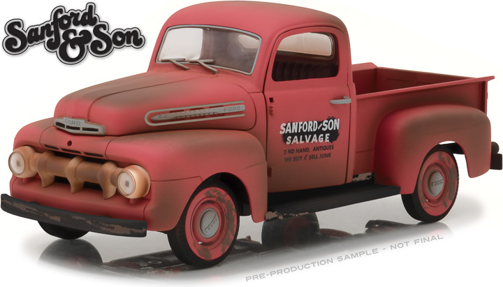 12997 - 1:18 Sanford and Son (1972-77 TV Series) - 1952 Ford F-1 Truck