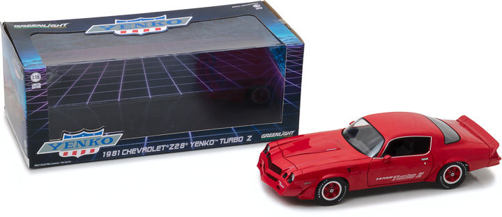 12999 - 1:18 1981 Chevrolet Z28 Yenko Turbo Z - Red