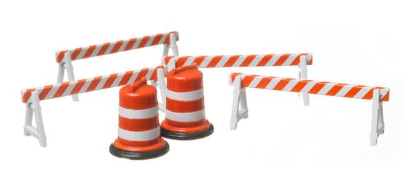 Traffic Barrel (x4)