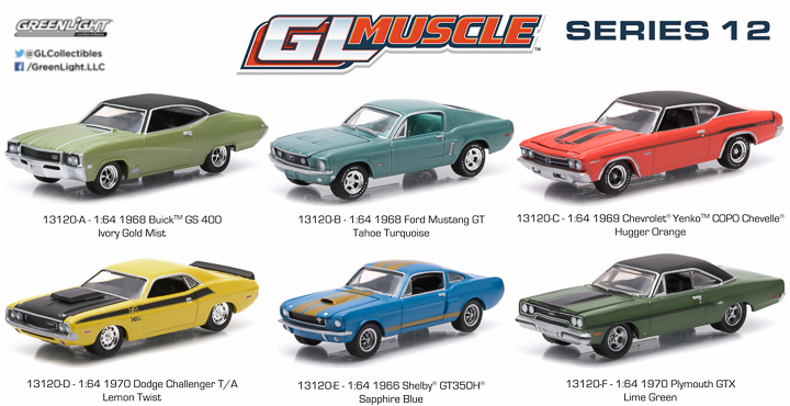 13120  - 1:64 GL Muscle Series 12
