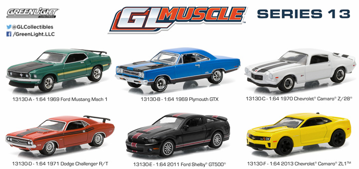 13130  - 1:64 GL Muscle Series 13