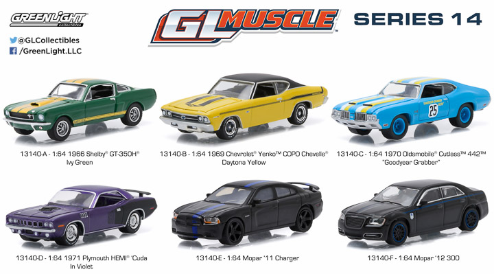 13140  - 1:64 GL Muscle Series 14