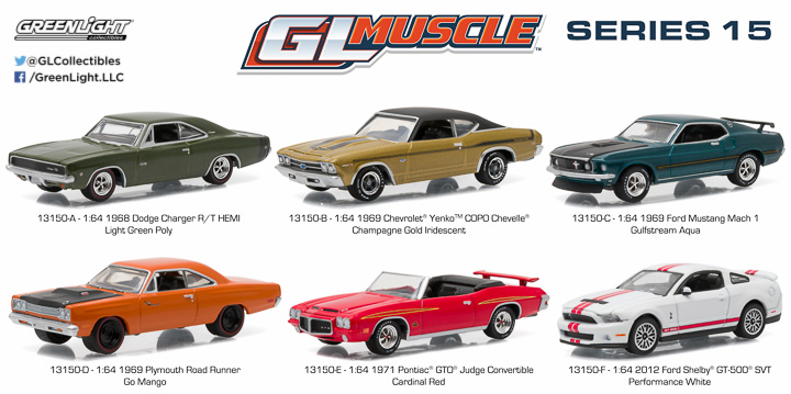 13150  - 1:64 GL Muscle Series 15