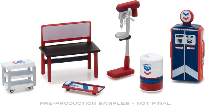 13157 - 1:64 GL Muscle Shop Tools Standard Oil
