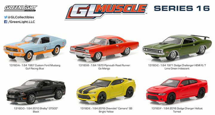 13160  - 1:64 GL Muscle Series 16