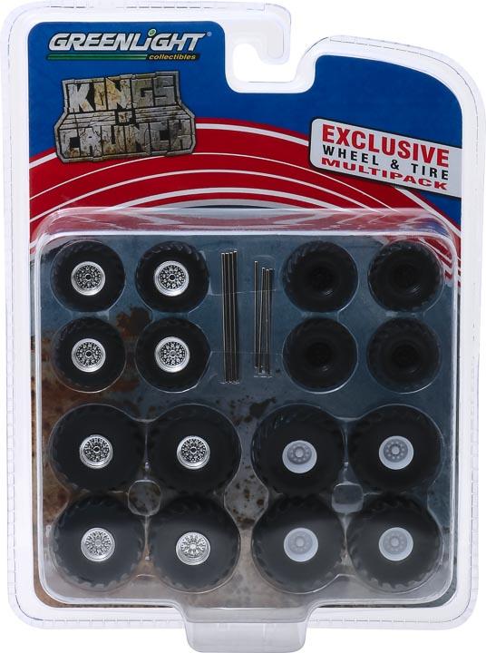13169 - 1:64 Kings of Crunch Wheel & Tire Pack