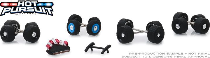 13171 - 1:64 Hot Pursuit Wheel & Tire Pack