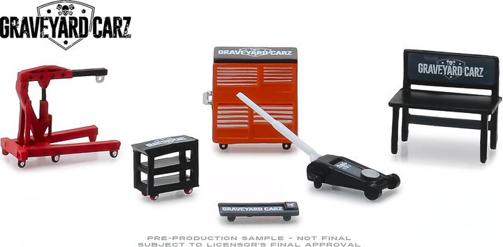 13174 - 1:64 Graveyard Carz (2012-Current TV Series) Shop Tools