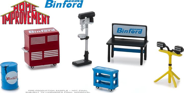 13175 - 1:64 Home Improvement (1991-99 TV Series) Binford Tools Shop Tools