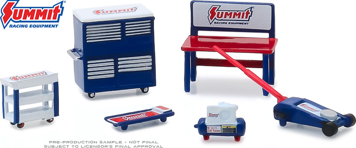 13176 - 1:64 GL Muscle Shop Tools Summit Racing Equipment