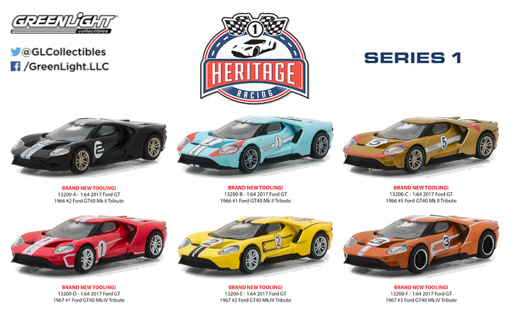 13200 - Ford Racing Heritage Series 1