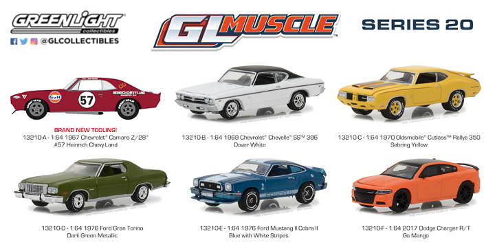 13210 - 1:64 GreenLight Muscle Series 20