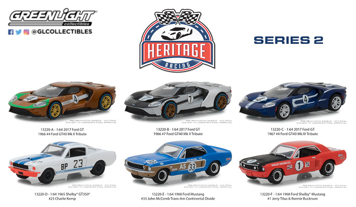 13220 - Ford Racing Heritage Series 2