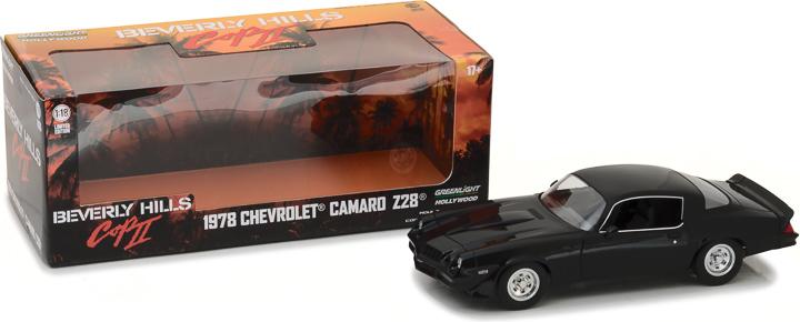 13501 - 1:18 Beverly Hills Cop II (1987) - 1978 Chevrolet Camaro