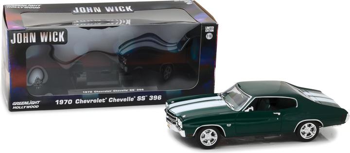 13505 - 1:18 John Wick (2014) - 1970 Chevrolet Chevelle SS 396