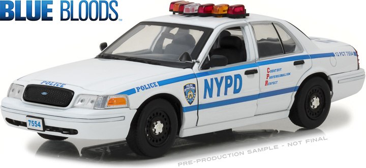 13513 - 1:18 Blue Bloods (2010-Current TV Series) - Jamie Reagan's 2001 Ford Crown Victoria Police Interceptor New York City Police Dept (NYPD)
