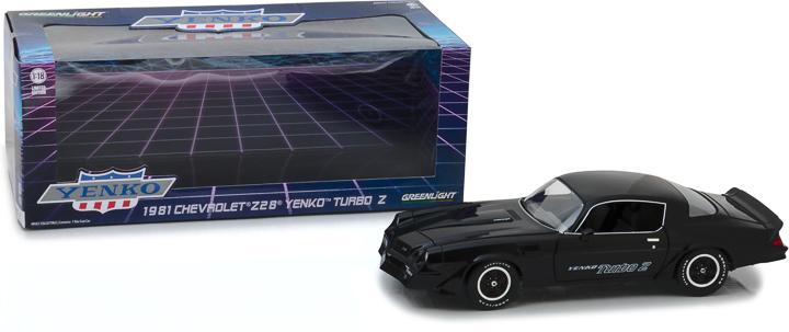 13519 - 1:18 1981 Chevrolet Z/28 Yenko Turbo Z - Black